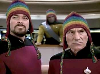 Jean Luc Picard and Number One